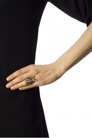 Logo ring od Saint Laurent